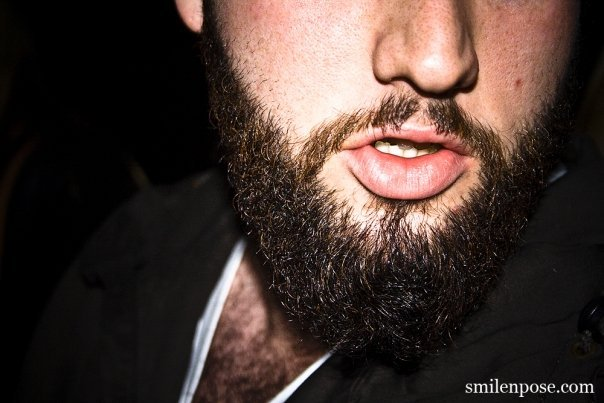 Dude has an AWESOME beard (pic by our homie B.Sprouse from SnP)