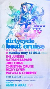 dirtyCyCle BOAT CRUISE