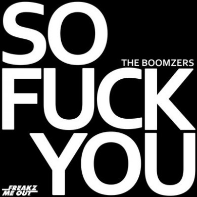 the boomzers so fuck you