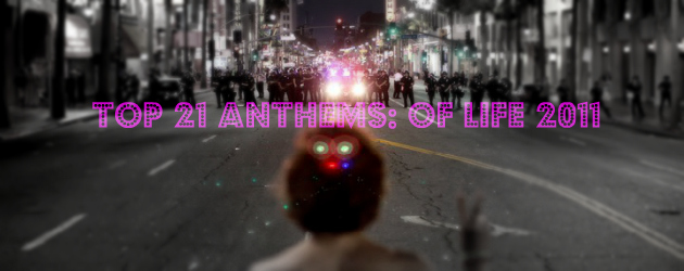Top 21 Anthems Of Life 2011 Cover