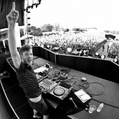 Rusko at Electric Zoo 2011