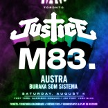 Justice & M83 @ Fort York