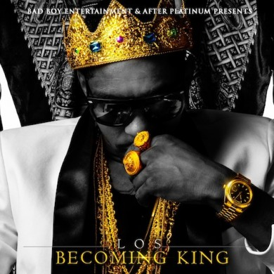 Los-Becoming-King-Official-Cover