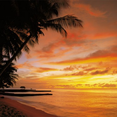 tobago-sunset-wall-mural