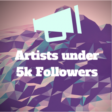 Artist under 5k followers