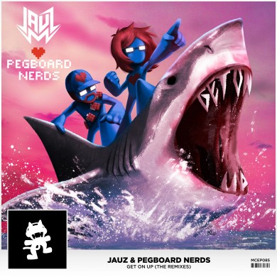 Jauz & Pegboard Nerds - Get On Up (The Remixes) (Art)