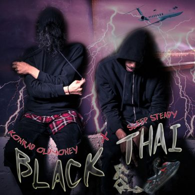 SLEEP STEADY BLACK THAI ART (1)