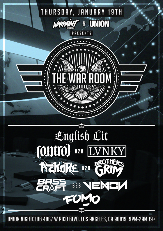 The War Room Flyer (2)